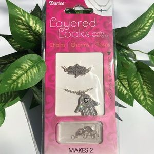 💎 3/$10 💎DIY necklace kit (makes 2)